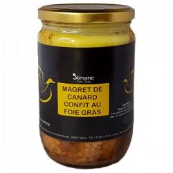 Foie gras magret confit