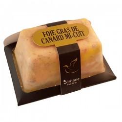 Foie gras de canard mi-cuit  400g P