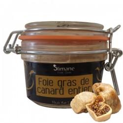 Spécialité de foie gras de canard entier  a la figue seche 130 g